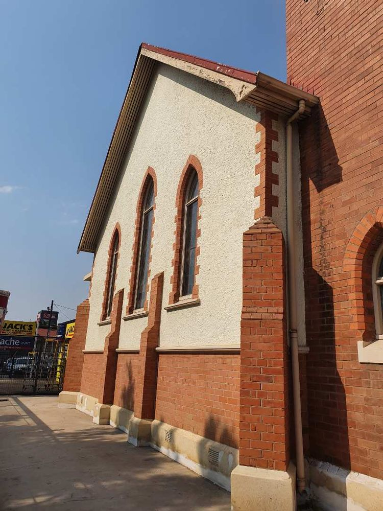 VICTORIA STREET VIEW OF CHURCH
